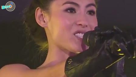 终于知道为何说张柏芝是女神歌手了,看她年轻时的演唱会就能明白
