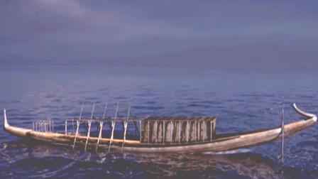 揭开埃及太阳船神秘面纱,法老通往天堂的飞船?