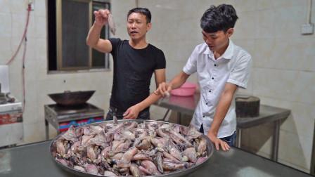 花780买18斤笔管鱼,每一只都有满满的大米,爆头太爽了