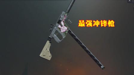 和平精英:被遗忘的好枪?Vector射速快,它用起来很稳定!