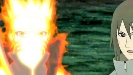 火影忍者:鸣人让带土见识自己的忍道!佐助:下一招决胜负