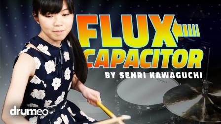 Senri Kawaguchi  - Flux Capacitor - Drum Performance