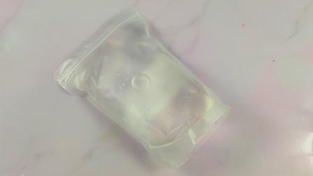 超便宜的两包史莱姆原液,没想到手感这么惊喜,最后的拉丝效果好漂亮