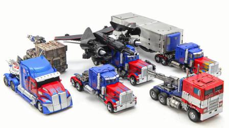 变形金刚电影1 2 3 4 5 6 Bumblebee  Voyager Class Optimus Prime 卡车汽车机器人玩具