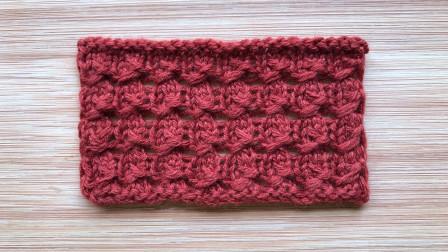 一款儿童棒针花样的编织方法,织法独特,简单易学,漂亮可爱图解视频