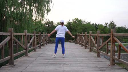 快节奏64步广场舞教程,音乐《BBoom》,节奏动感,跳出青春活力