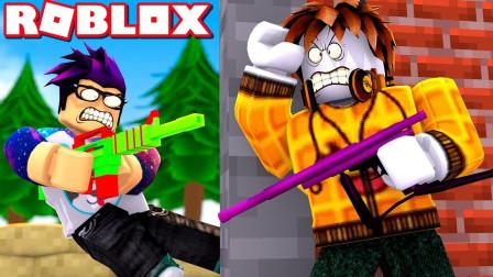 Roblox彩弹射击!狙击甩枪!穿越火线成为全场最强神枪手!面面解说