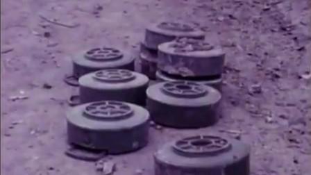 1979年自卫反击战后,越南谅山景象,越军排地雷