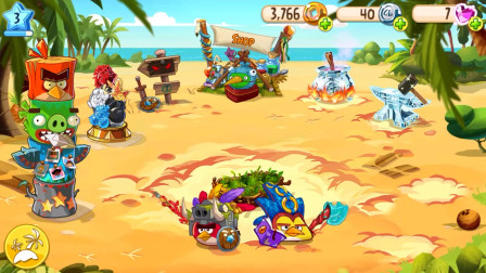 愤怒的小鸟RPG:解锁更多的装备可以给我们选择
