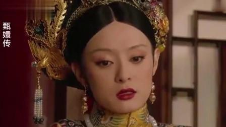 甄嬛传大结局时有谁注意甄嬛头上的发簪皇后情绪失控了