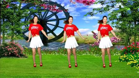 健身操《中国美草原美》歌声唱响千百回,五湖四海的人已舞相会