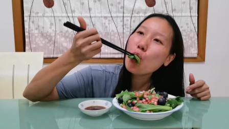 懒人减脂族的福音之冰菜,颜值高口感好味道佳,关键是洗洗就能吃