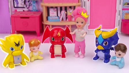芭比剧场:三个小宝宝收到新玩具,到底谁的更好玩?