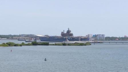 国产航母仍未完工,印度却强行出海测试,或将沦为训练舰