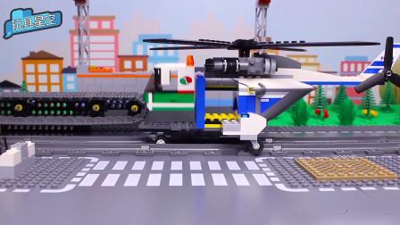 警察叔叔自己动手组装一辆满意的直升飞机,可空中巡逻保卫家园