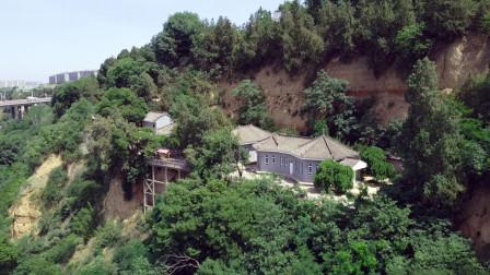 修建在半山崖间的蒋介石地堡密洞如遇日军飞机轰炸会可靠吗