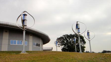 """""""嵌套式""""家用风力发电机,最大功率3KW,立在房顶可免费用电!"""