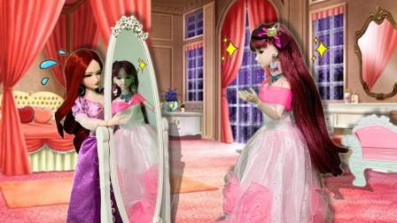 叶罗丽故事 菲灵的宝贝镜子被朋友弄坏了 她让朋友这样补偿她