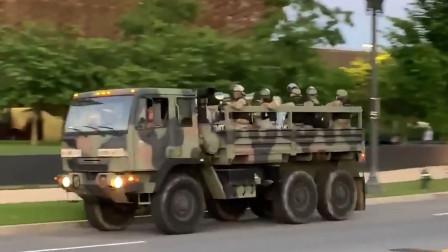 美国抗议活动持续升级 华盛顿启动国卫队保护白宫