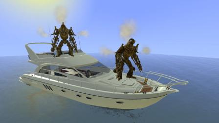 gmod:奥特曼的游艇被怪兽开走了怎么办?