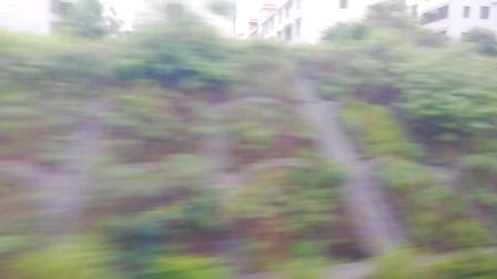CRH380A-G1682次 遵义-厦门 萍乡北2站台进站 和谐号南局福段