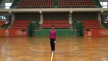 健身球《爱我中华》第六节分解教学