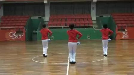 健身球《爱我中华》第五节分解教学