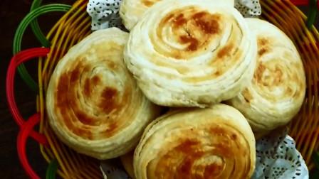 家常酥饼家常的做法,不用烤箱,咬一口只掉渣,太好吃了