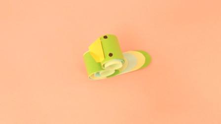 340 一起动动手制作一只简单又有趣的卷纸小鸟吧
