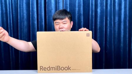 开箱RedmiBook16锐龙,16.1全面屏R7/16G/512,4299元你看值吗?