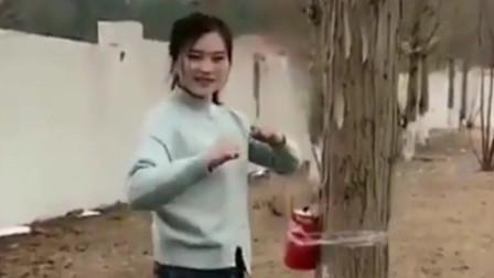 武术让你们见识下什么叫做真正的女汉子有人敢娶么