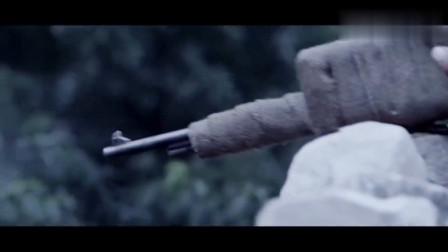 八路军神枪手一枪打爆日军扔出的手雷