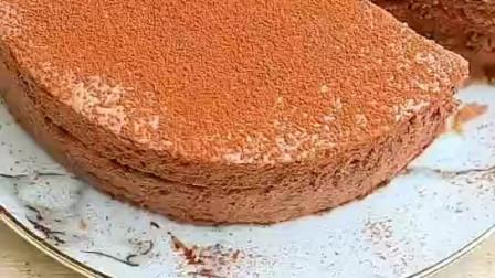 巧克力慕斯蛋糕  好吃到舔手指