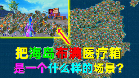 """揭秘:海岛整改成""""海岛医疗箱地图""""!网友:这是要抗毒吃鸡?"""