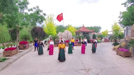 甘肃景泰枫林锅庄舞协会106_学跳西藏锅庄