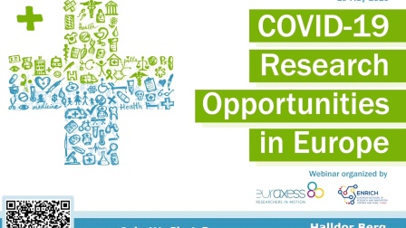 COVID-19 Research Opportunities in Europe