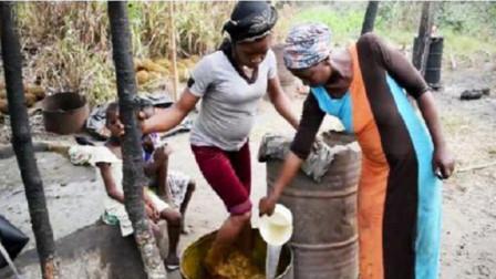 为啥非洲部落女人做的饭,连他们自己都不敢吃?看完我都反胃了