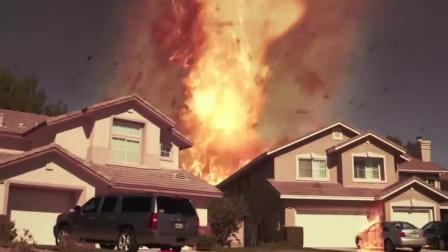 火卷风暴:美国遭遇罕见火龙卷风,所到之处全部都化为灰烬
