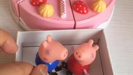 佩奇乔治给爸爸做生日蛋糕,结果没有生日蜡烛,小朋友们能送生日蜡烛给佩奇乔治吗?