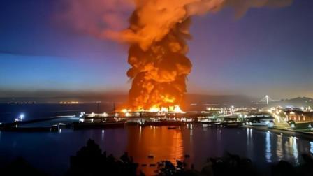 诸葛小彻 第一季 79年前一幕重演?美万吨巨舰大火中危在旦夕