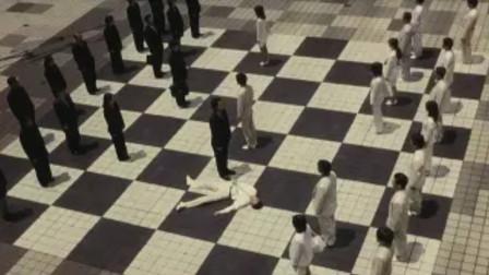 以活人为棋子下棋,吃一子,杀一人,日本奇幻电影《棋幻之战》