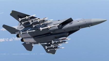 全球四代机领域的精品,翼下拥有25个挂点,载弹量比轰炸机还多