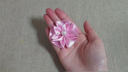 生活小妙招,看看如何用缎带制作花朵,简单又漂亮!