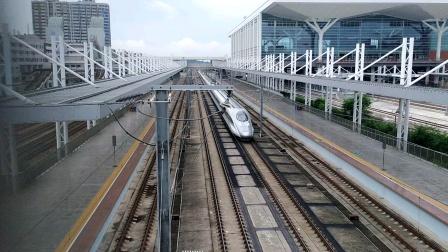 2020年6月2日,G66次(广州南站—北京西站)本务中国铁路北京局集团有限公司北京动车段石家庄动车运用所CRH380AL-2564广州北站通过