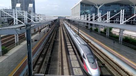 2020年6月2日,G532次(深圳北站—石家庄站)本务中国铁路北京局集团有限公司北京动车段石家庄动车运用所CR400AF-2033广州北站通过