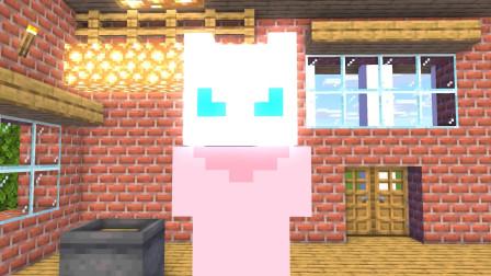 我的世界动画-怪物学院-变末影人挑战-MineCZ