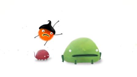 益智游戏: 绿色的小动物
