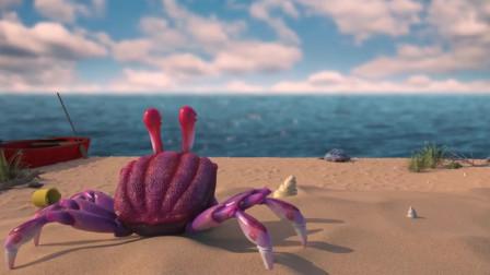 螃蟹拥有7条半个腿,于是学习乌龟走路,结果把自己送到人类厨房
