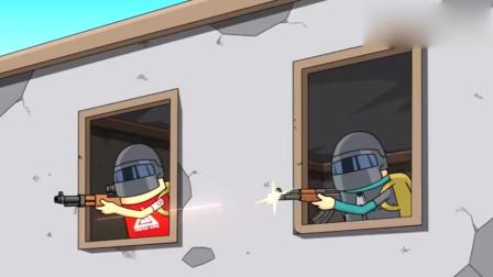 香肠派对:敌人的位置易守难攻,队友就要拉枪线