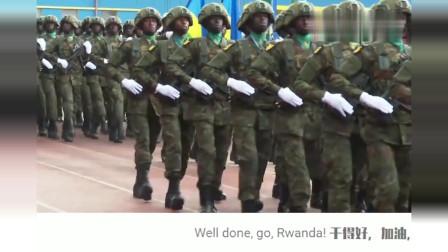 卢旺达举行中国式阅兵,中文口号喊得霸气十足!外国人:非洲第一
